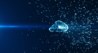 Image of digital cloud